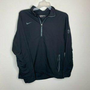 Nike Golf Mens M Black UPS Long Sleeve Dri Fit
